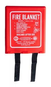 (04001212) 1.2M X 1.2M FIRE BLANKET